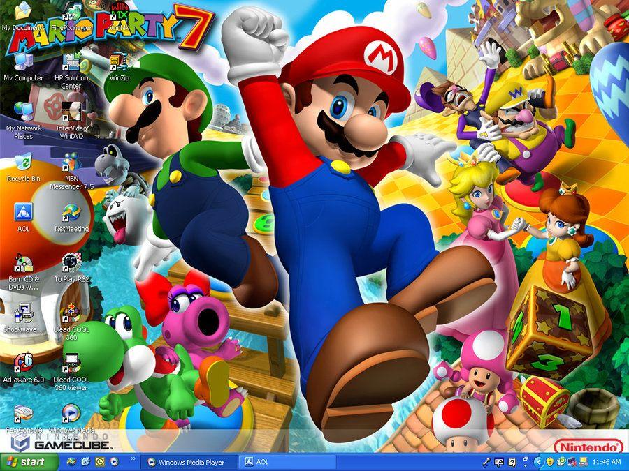 Mario Party 7 Wallpaper by ~xFlowerstarx on deviantART