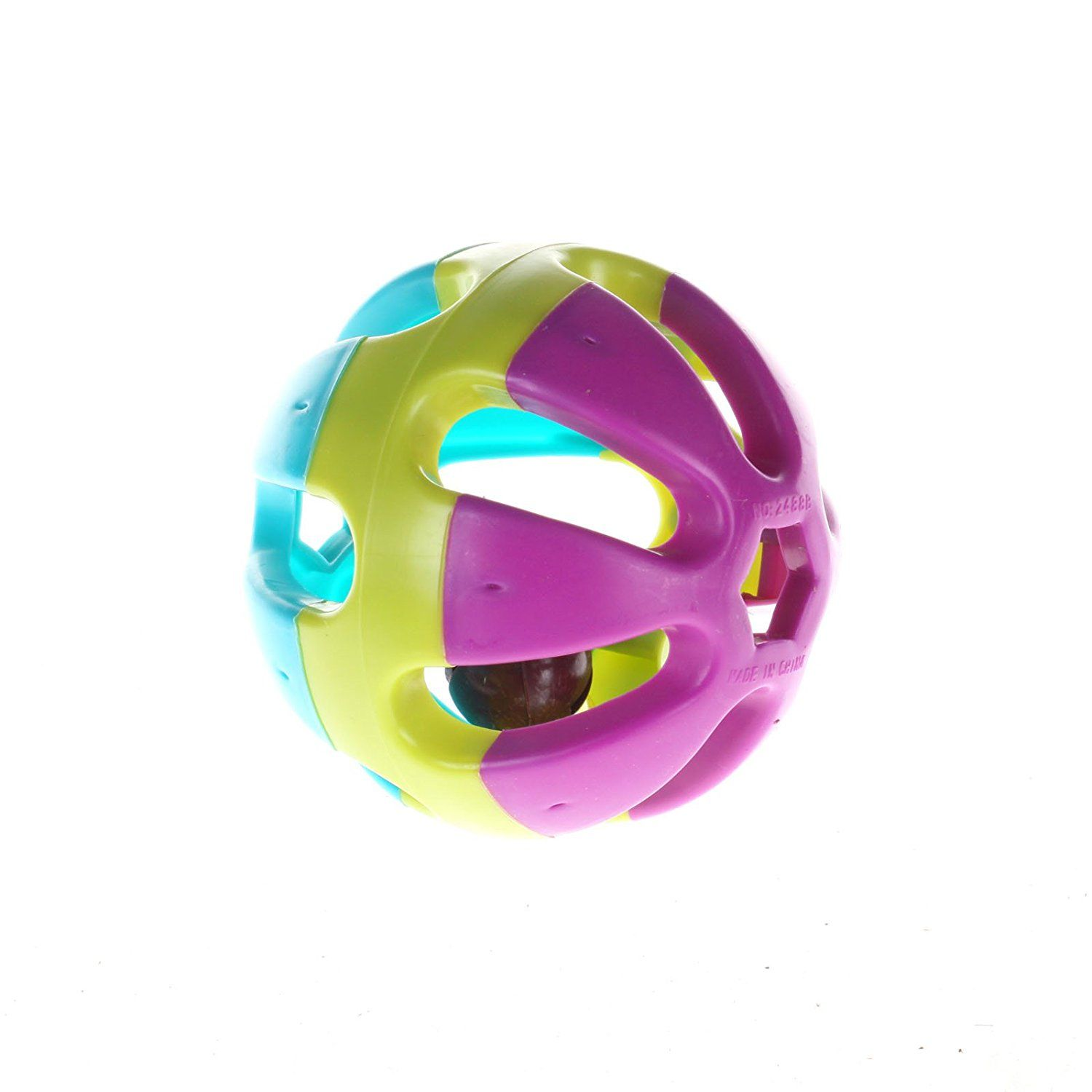 Zfea Bird Toy Bell Balls Colorful Ball For Budgie Finch Parrot Rabbit Cat Hamster See This Awesome Image Cat Toys Bird Toys Toy Rattle Hamster Toys