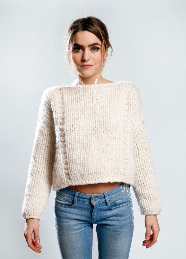 Strickset Schafwolle Pullover Nolita Sweater | Weareknitters