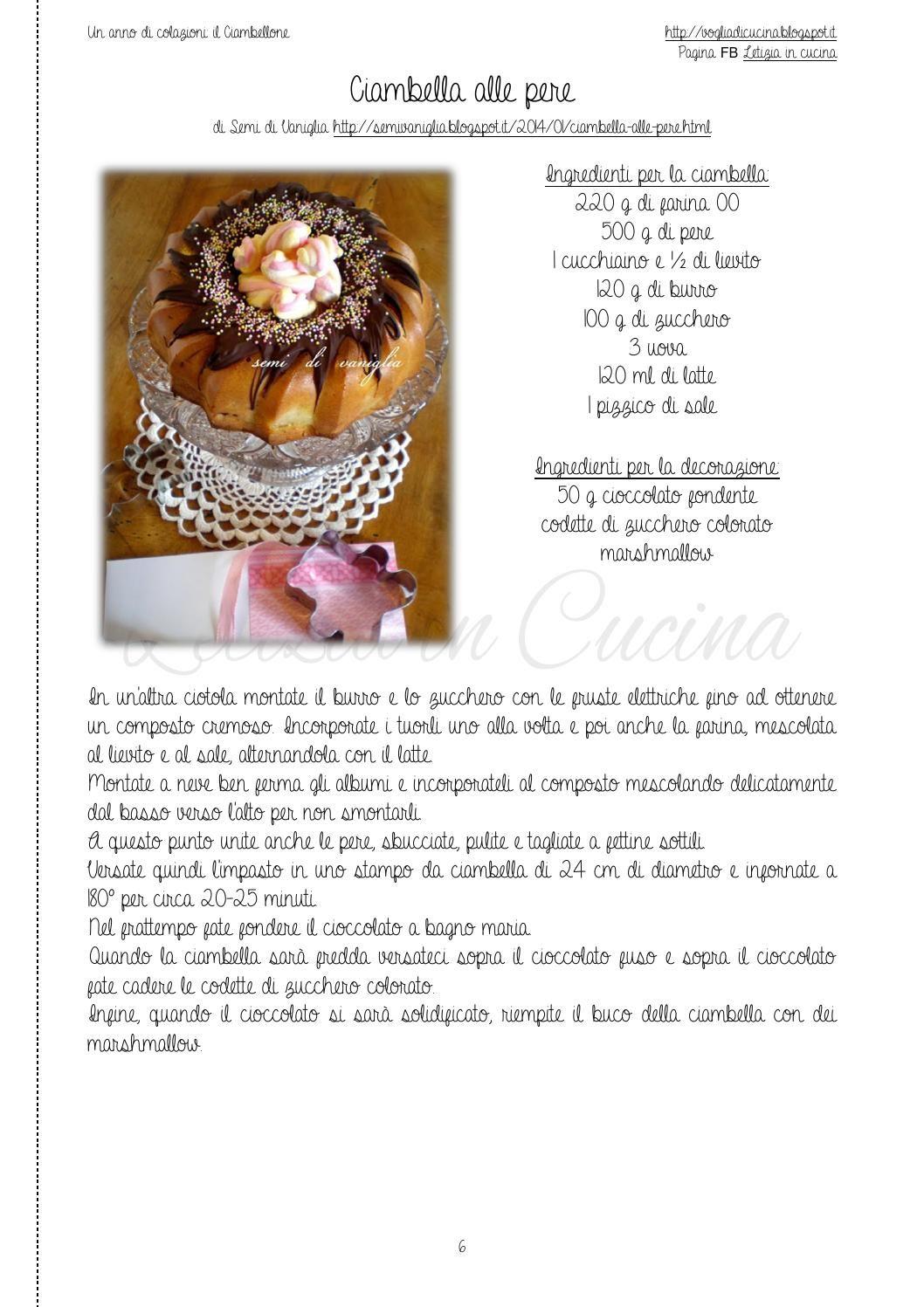 Un anno di colazioni: il Ciambellone | Cucina and Newspaper