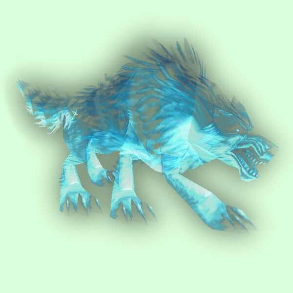 Wow spirit pet1 (With images) Ghost wolves, Wolf spirit