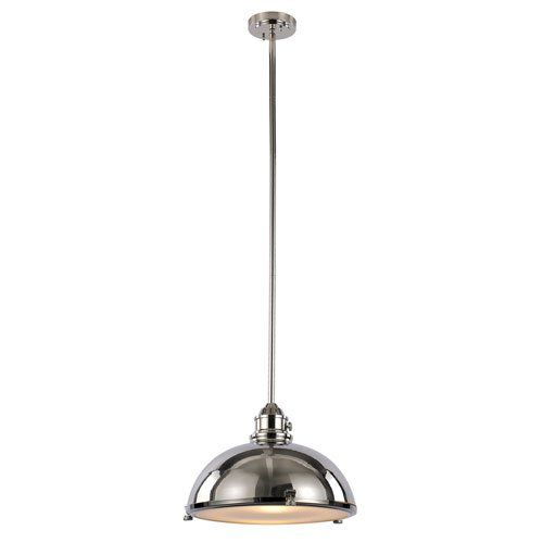 "Bel Air Lighting Vintage Headlamp 16"" Polished Nickel Pendant Light Bel Air Lighting http://www.amazon.com/dp/B00JQRBBEC/ref=cm_sw_r_pi_dp_rIOLwb17SNPT5"