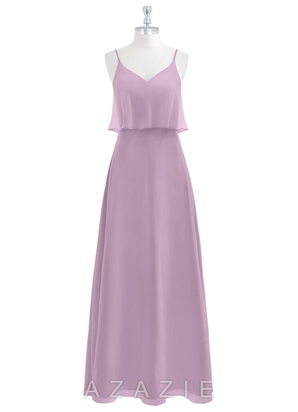aeece262e47 Azazie Desiree Bridesmaid Dress - Wisteria