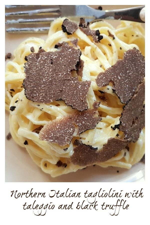 with taleggio and black truffle This Northern Italian recipe for tagliolini pasta with taleggio cheese and black truffle is a 5 star dish you can make at home in 15 minutes and with only 5 ingredients! Foodie heaven! | the-pasta- via @thepastaprojectThis Northern Italian recipe for ta...