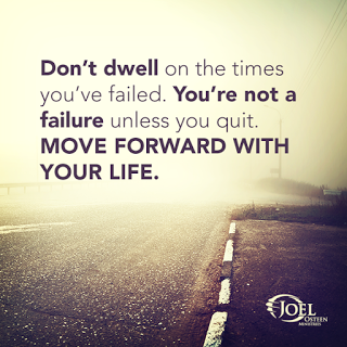 Move it and lose it.: DON'T DWELL