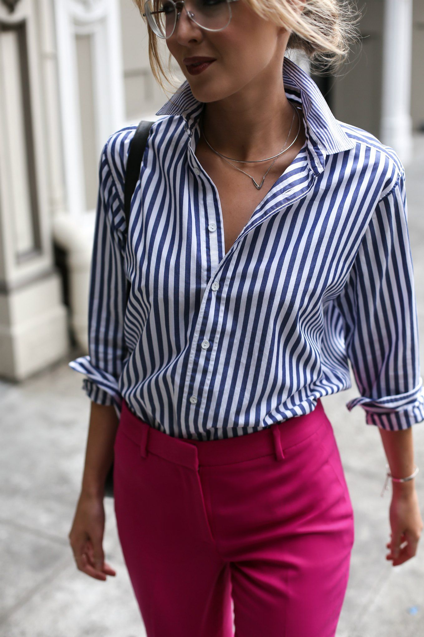 Fall Fuchsia | Summer work outfits, Chic office outfit ...