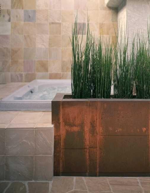 30 Green Ideas for Modern Bathroom Decorating with Plants | Grünes ...