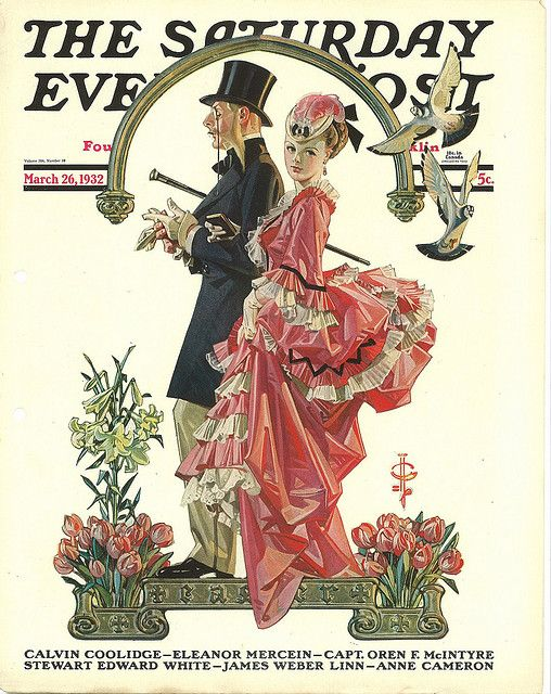 The Saturday Evening Post (March 26, 1932) by J.C. Leyendecker