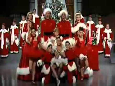 white christmas dvd black and white clip