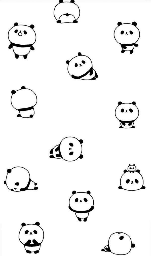 Pin By Obaida Ze On Panda Bears Cute Panda Wallpaper Panda Wallpaper Iphone Panda Illustration