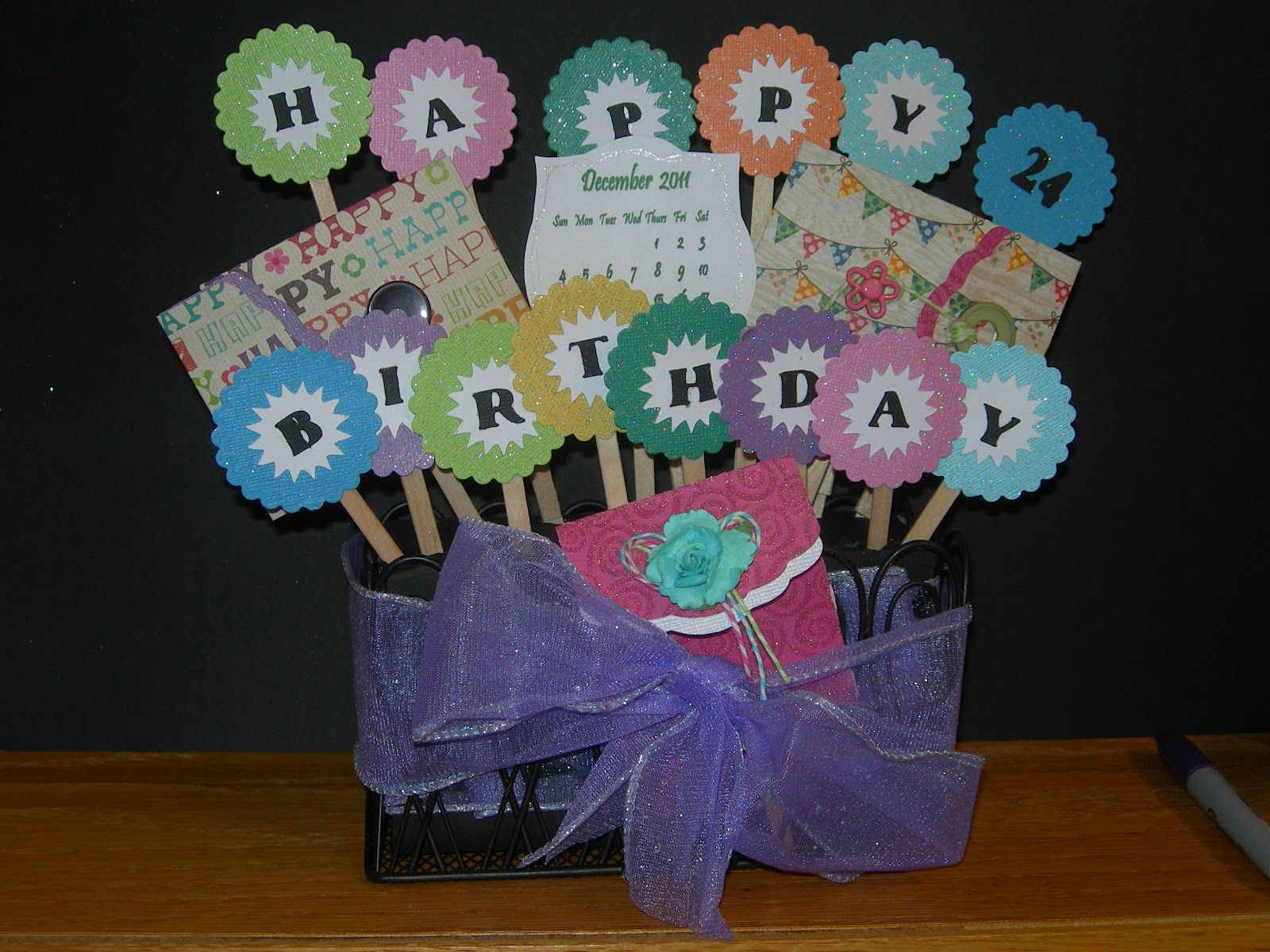 Staff appreciation ideas student ideas pinterest staff scrapping spot gift card bouquet could say thank you instead negle Gallery