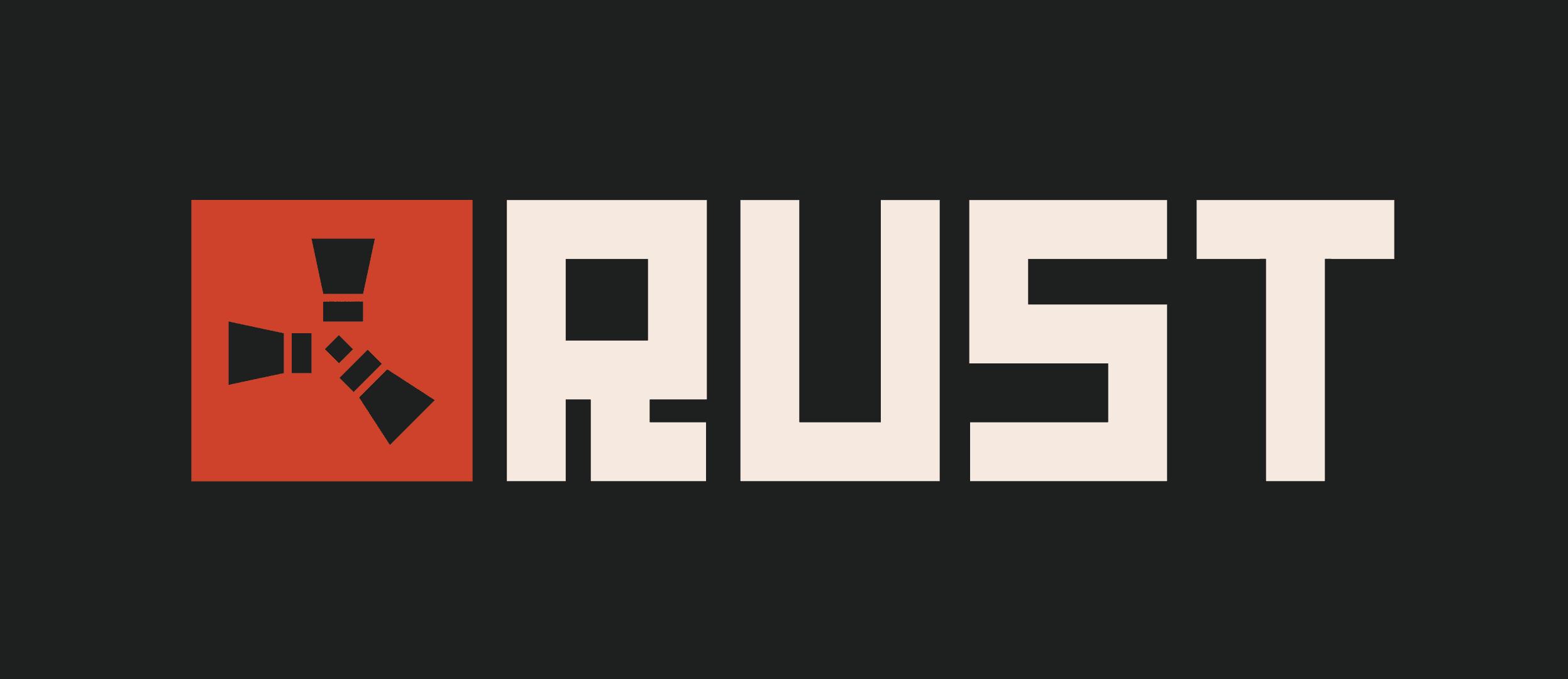 Rust Game Video Game Logos Rust Game Logo