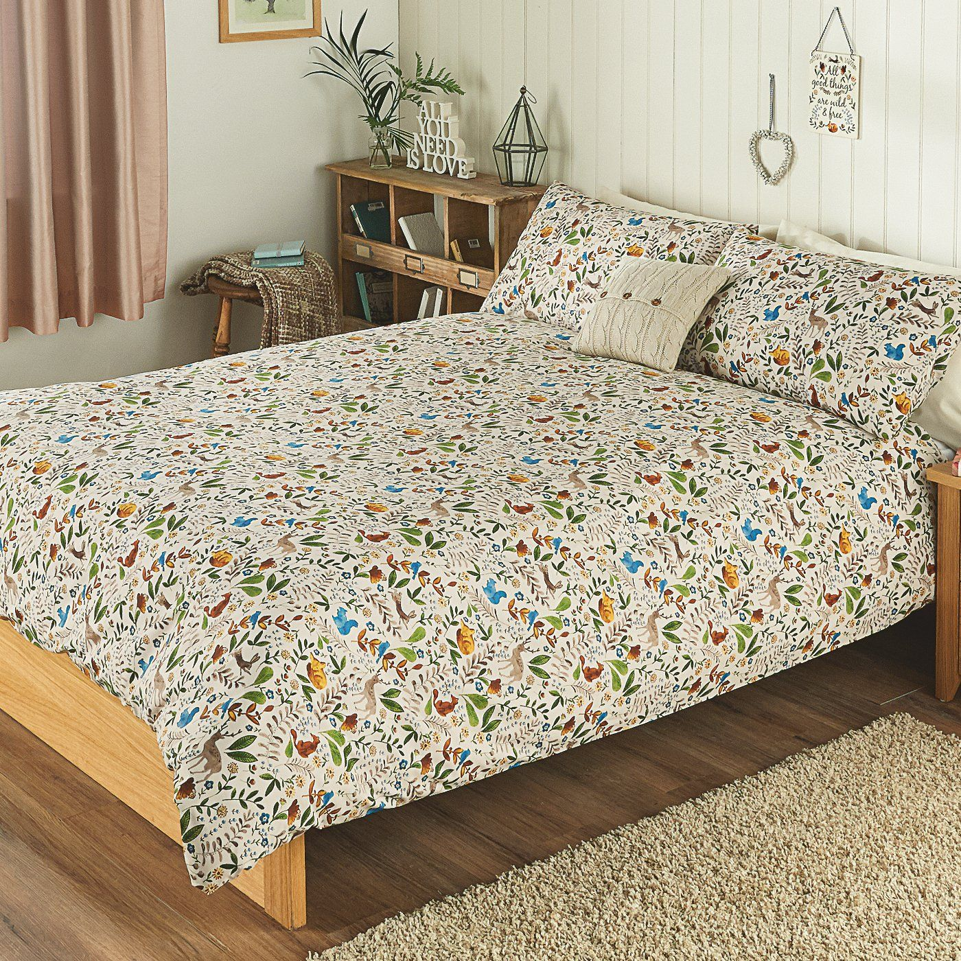 Buy George Home Woodland Animals Duvet Set from our Bedding range ...
