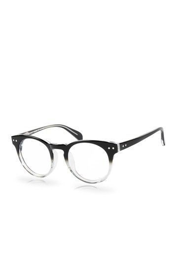 Acetate Black and Crystal Ombre Glasses   Glasses   Sunnies ... 1cd72332e87b