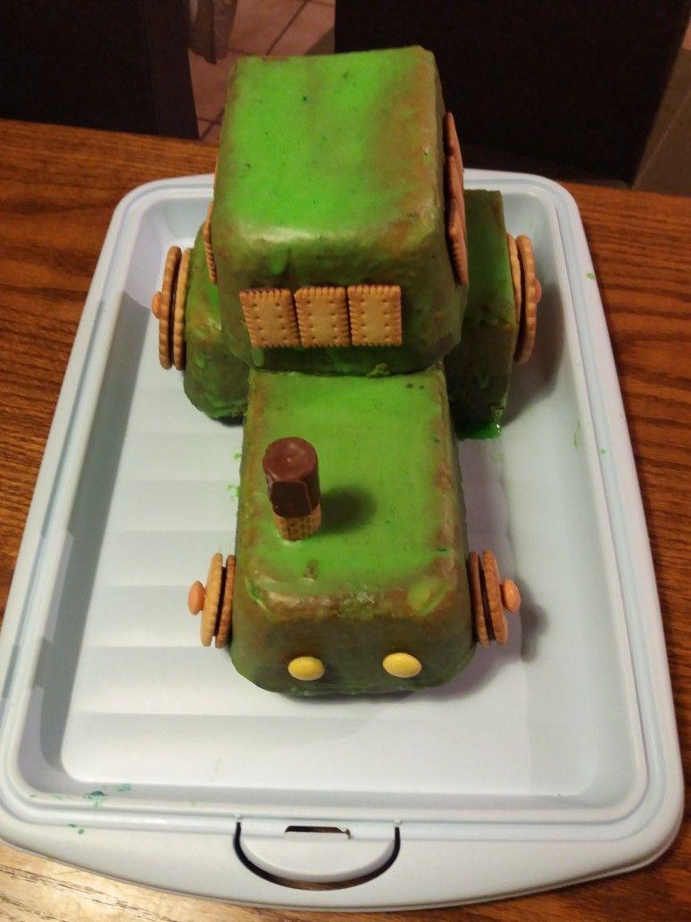 Traktor Kuchen Mit Bildern Traktor Kuchen Kuchen Kindergeburtstag Kuchen