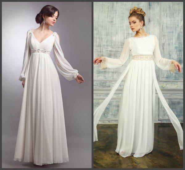 Подарок Афродиты: выбираем свадебное платье в греческом ...