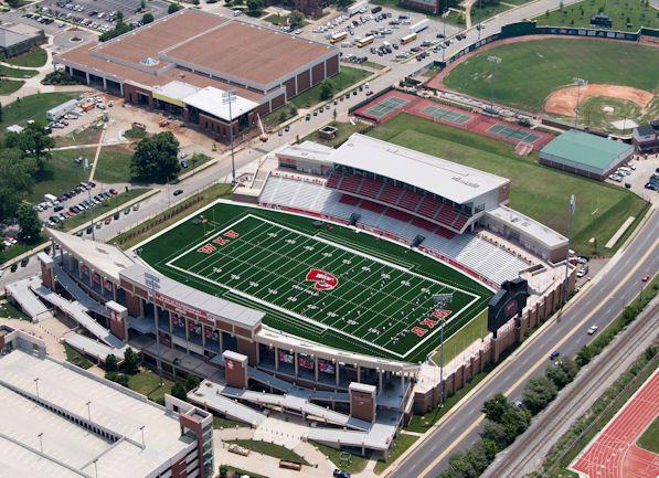 Western Kentucky Stadium Industries L T Smith Stadium Bowling Green Ky Western Kentucky Western Kentucky University Stadium Football Stadiums
