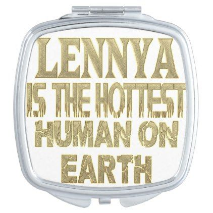 Lennya Compact Mirror - home decor design art diy cyo custom