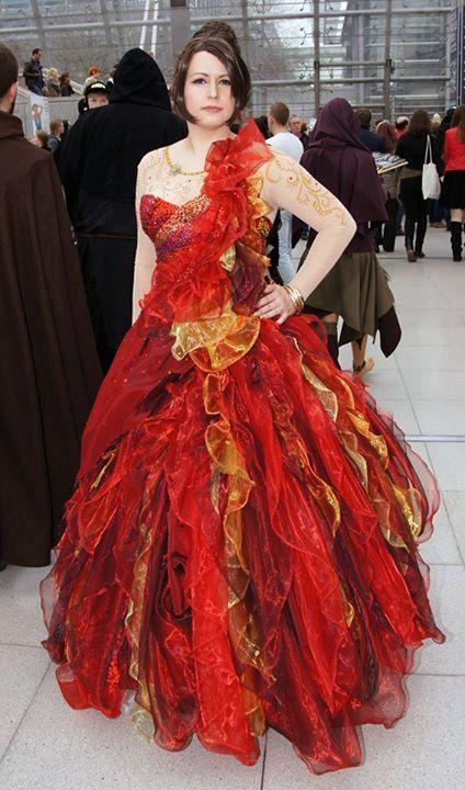 Katniss Everdeen girl on fire hunger games custom by ...