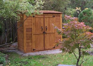 Gentil Grand Garden Chalet 6x3   Cedar Garden Shed   Contemporary   Sheds    Vancouver   By