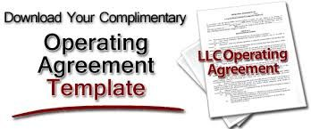 Operating Agreement  A Contract That Details The Areas Of