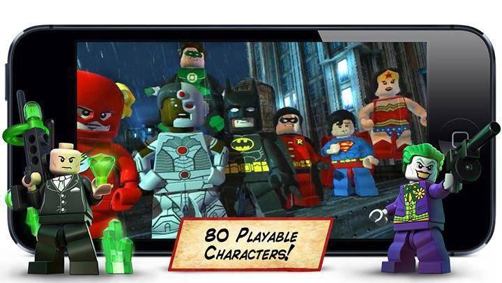 Controla A Los Superheroes De Dc En Lego Batman Dc Super Heroes