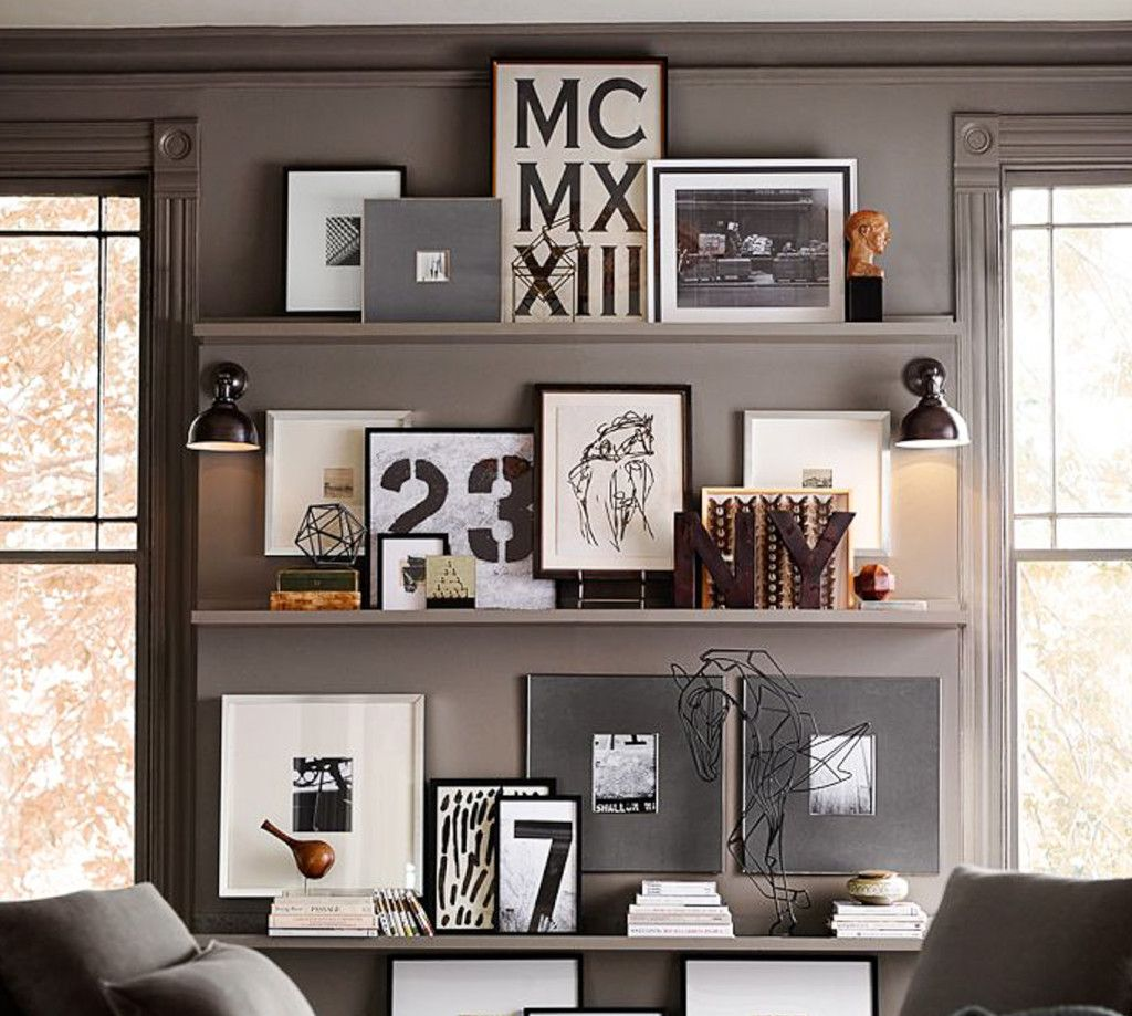 Pottery Barn Wall Shelves Diy Picture Ledges Mantle Shelves And Picture Ledge