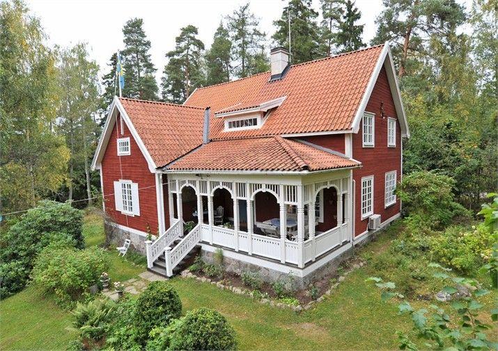 nationalromantik biokay schwedenfarbe pinterest haus holzhaus und schwedenhaus. Black Bedroom Furniture Sets. Home Design Ideas