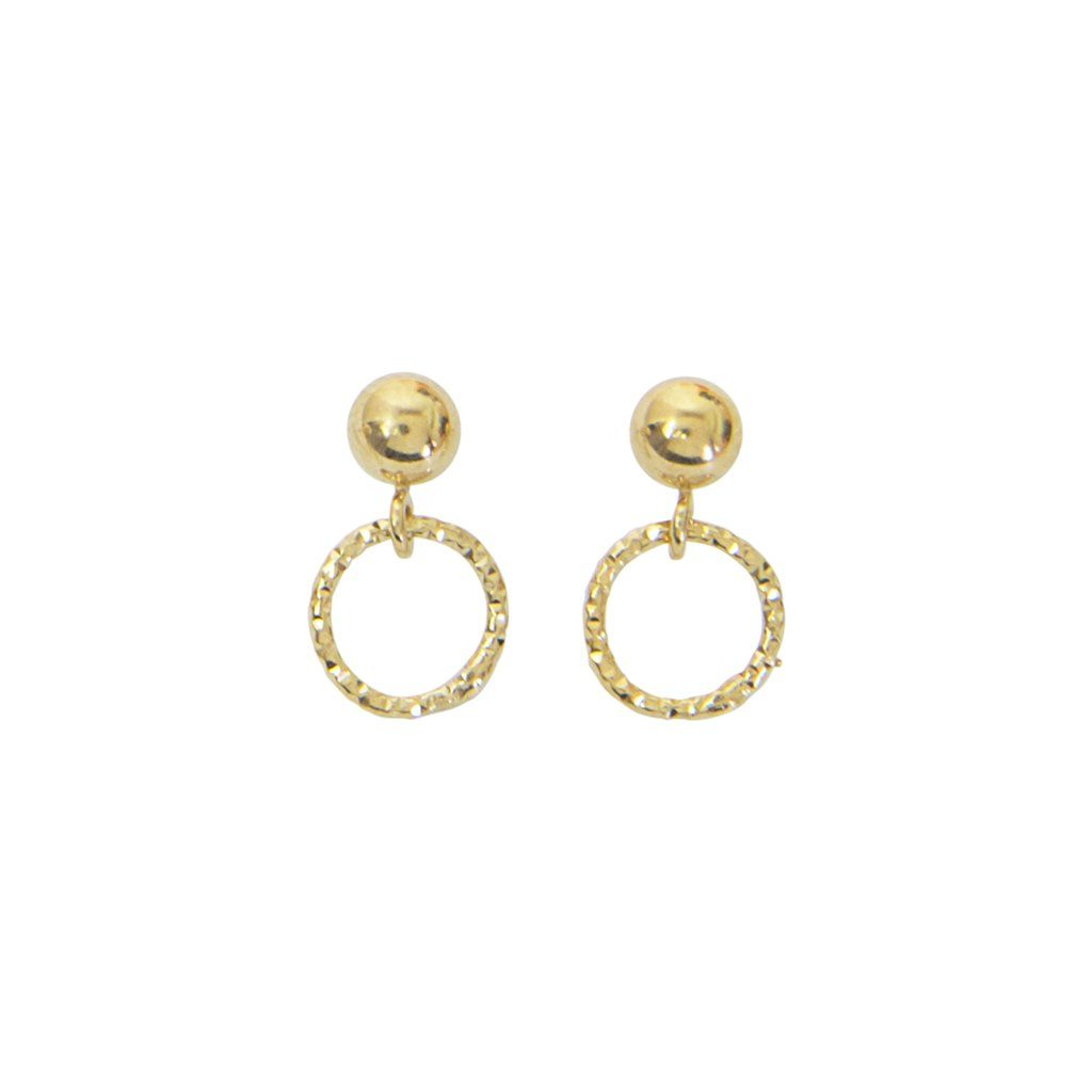 fb069a6b2 Cabinet Jewellery Facet Hoop Earrings (Small) | Jennifer Anne Petite  Clothing | Petite Jewellery