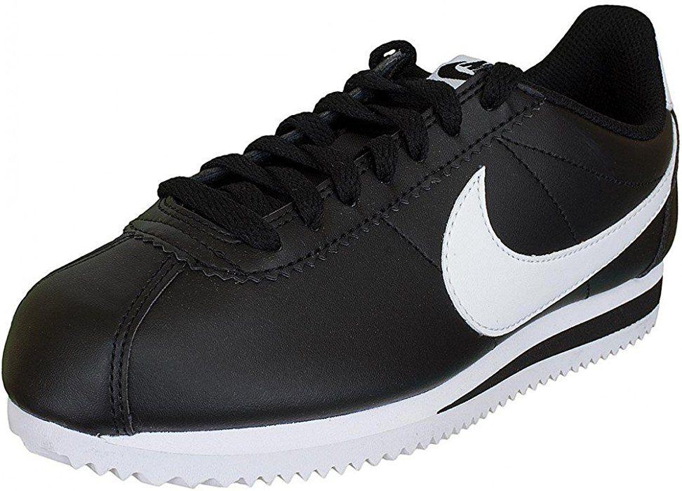 size 40 4bcf5 cc39a Nike Damen Sneaker Cortez Leather schwarzweiß 38 Amazon.de Bekleidung