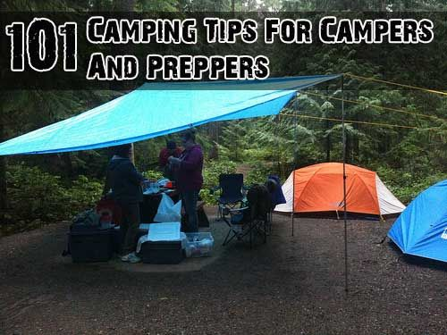 Photo of 101 Camping Tips For Campers And Preppers
