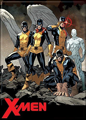 Xmen Angel Marvel Girl Cyclops Beast Ice Marvel Comics Refrigerator Magnet Continue To The Product At The Image Link Note It Is Comics Marvel Girls X Men