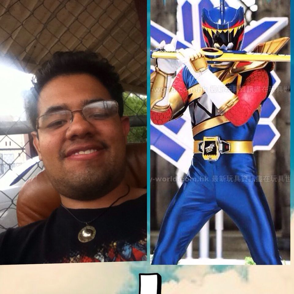 I hope I get the role of the Dino charge Talon ranger