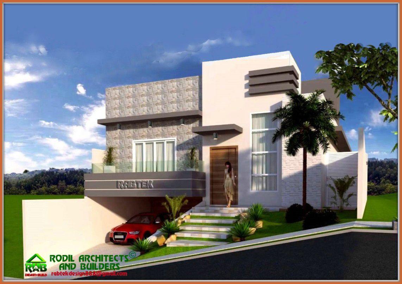Rabtek Split Level Modern Minimalist Design With Roof Deck Tcmhsk2