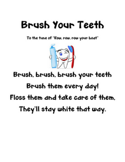Taking care of teeth song math problems tooth fairy letter and taking care of teeth song math problems tooth fairy letter and how to brush your teeth writing ccuart Images