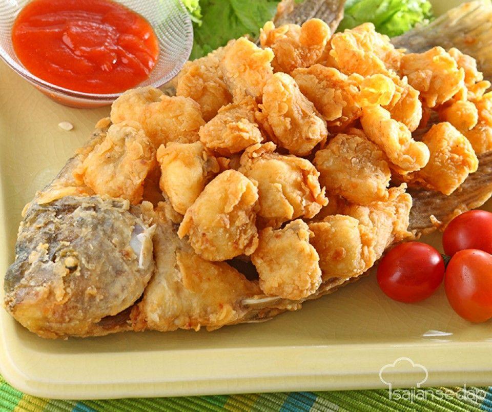Resep Olahan Ikan Ini Cocok Bagi Yang Tak Mau Repot Berurusan Dengan Duri Ketika Makan Ikan Gurihnya Ikan Goreng Tepung Berpadu Denga Resep Resep Ikan Makanan