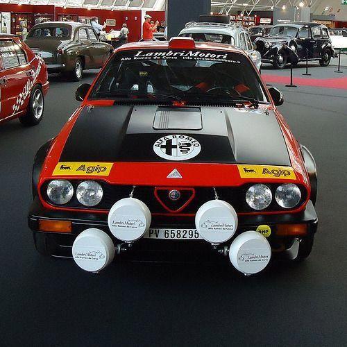 "Automotivated: "" Alfa Romeo GTV 6 / Gruppo 4 (1980) (by"