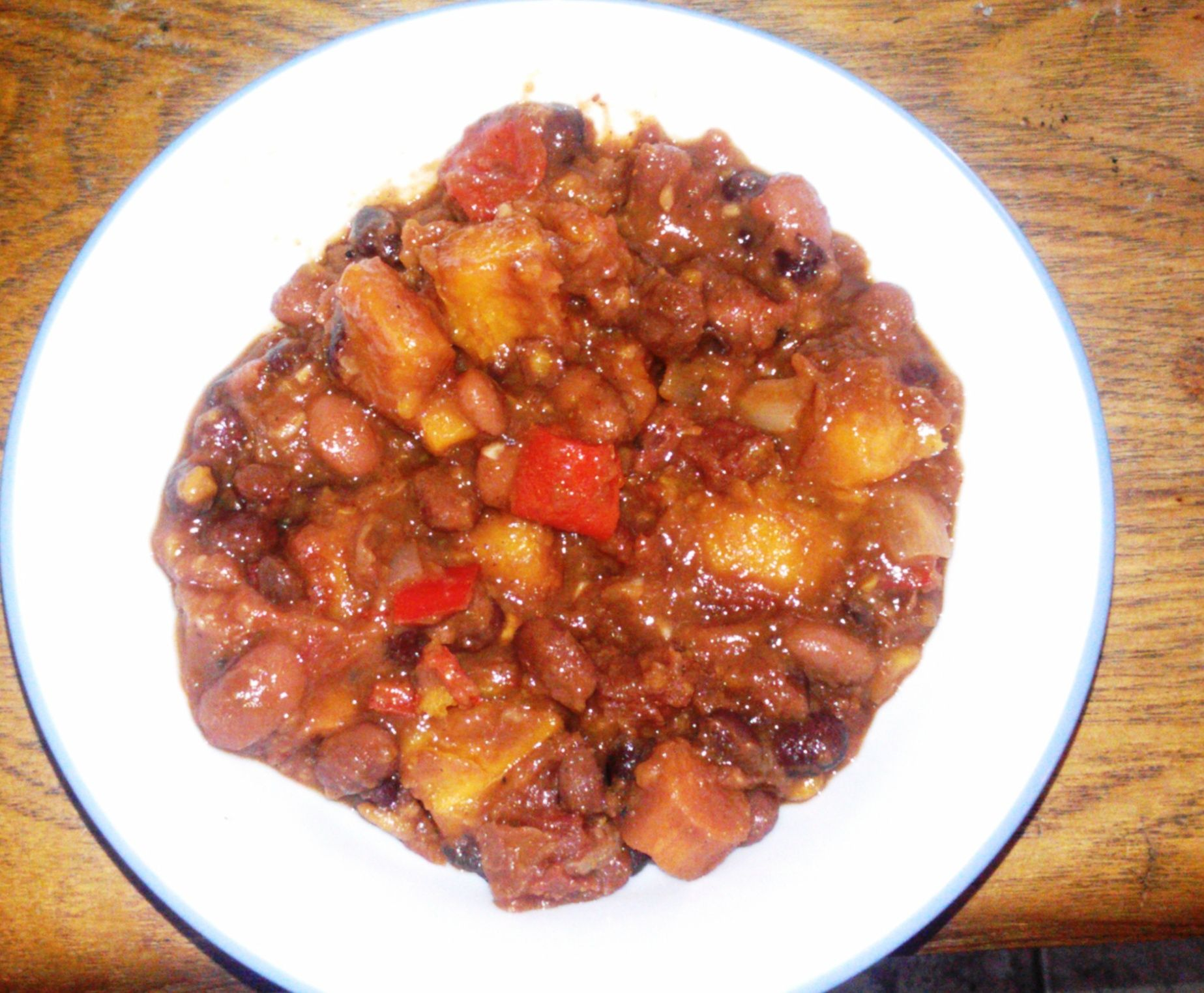 ~ Contest-winning chili with an amazing flavor twist that people go crazy over! Quick and easy in the slow cooker – and healthy, too! A guaranteed win! ~.