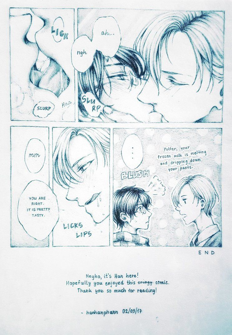 Some Short Drarry Comic Hanhanphann Harry Potter J K Rowling Archive Of Our Own Harry Potter Comics Harry Potter Anime Drarry