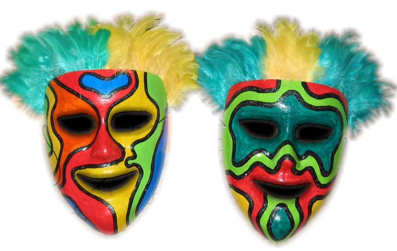 Mask making ideas fiberglass masks psychedelic drama for The mask photos gallery