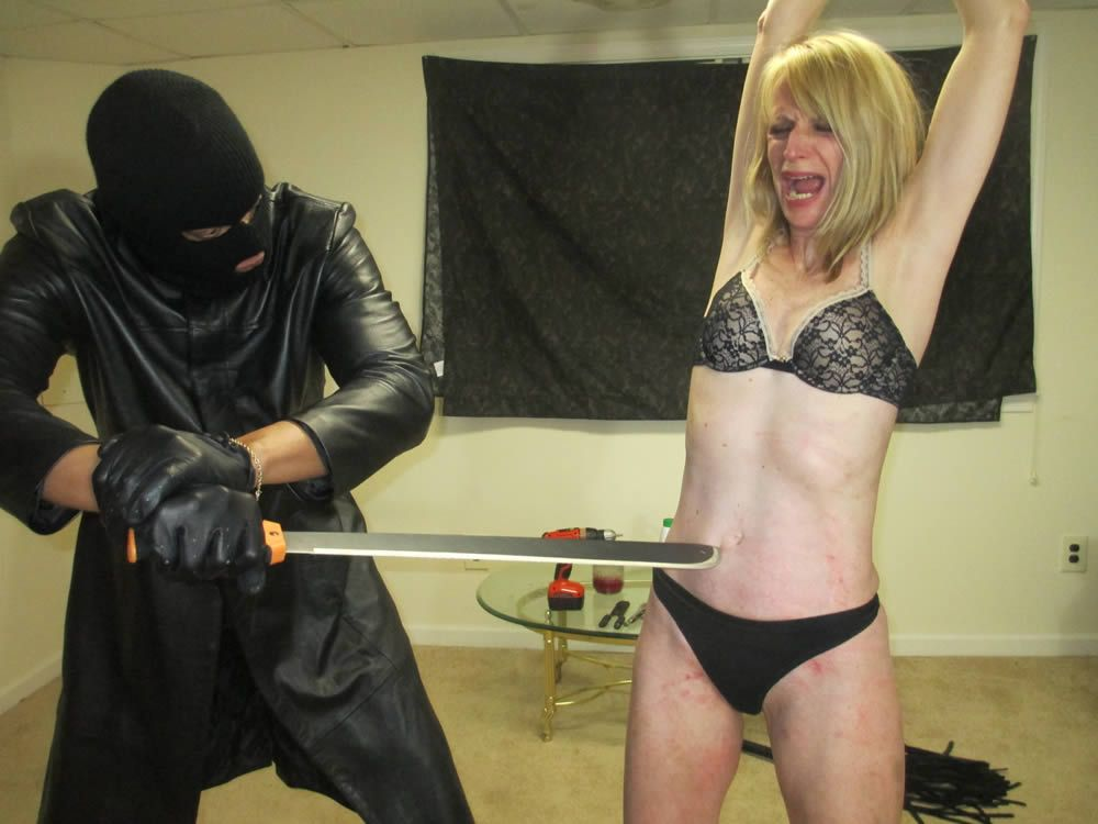 A bit of whipping fucking ass plugging and cumming 9