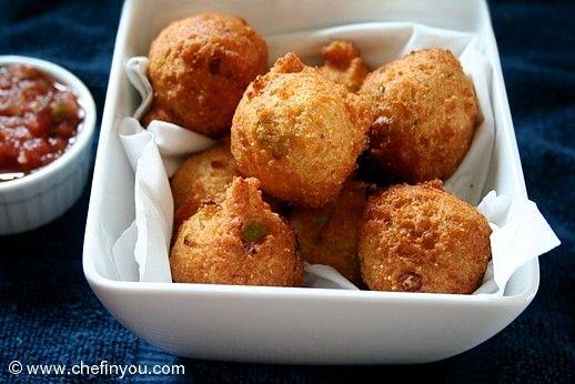 Hush Puppies Recipe Hush Puppy Recipes Cornmeal Fritters Recipe Food Recipes Hush Puppies Recipe Food