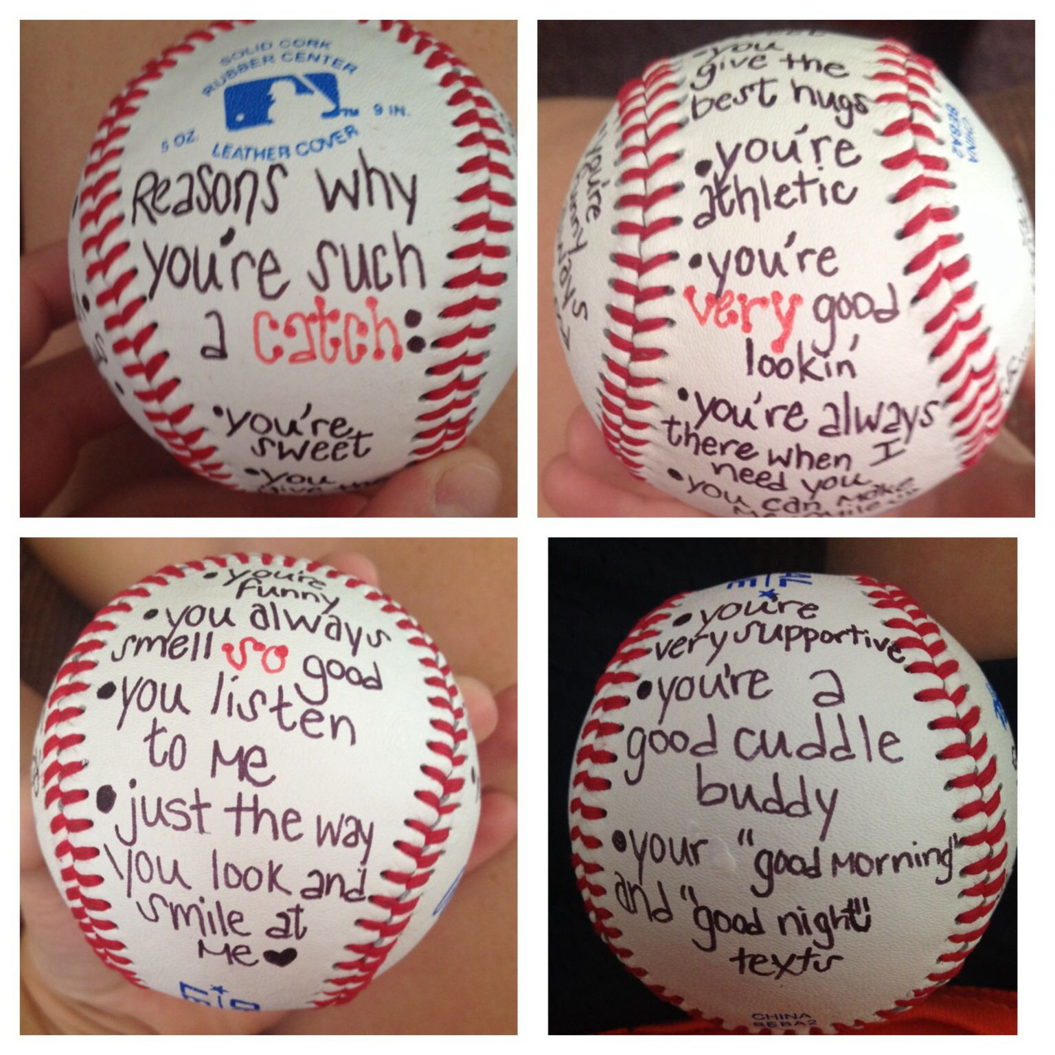 50 awesome valentines gifts for him baseball crafts Valentines gift for boyfriend