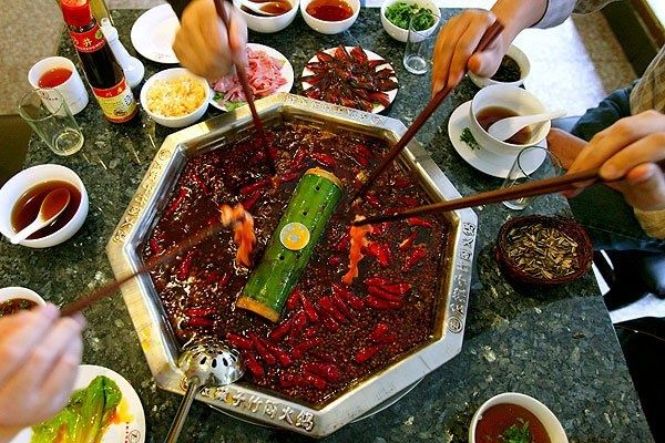 Sichuan Hot Pot #spicy #food