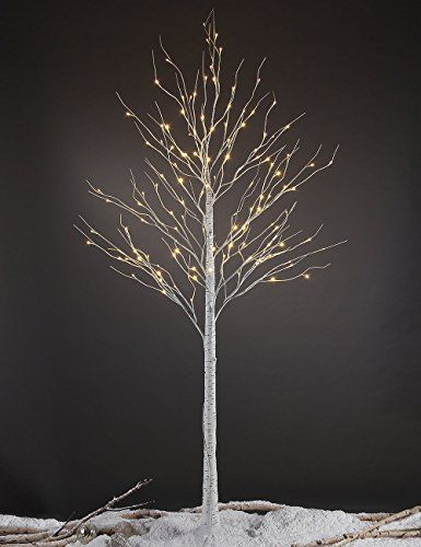 Woodland Birch Christmas Tree Shop Here For The Most Adorable Christmas Decorations Birch Tree Decor Birch Christmas Tree Lighted Tree Branches