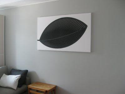 A graphic leaf by Marimekko