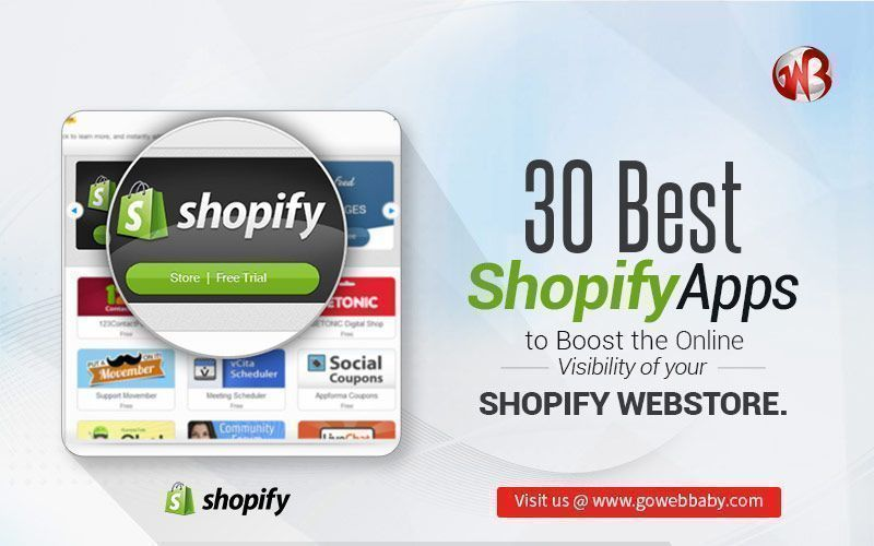 30 Best Shopify Apps to Boost the Online Visibility of