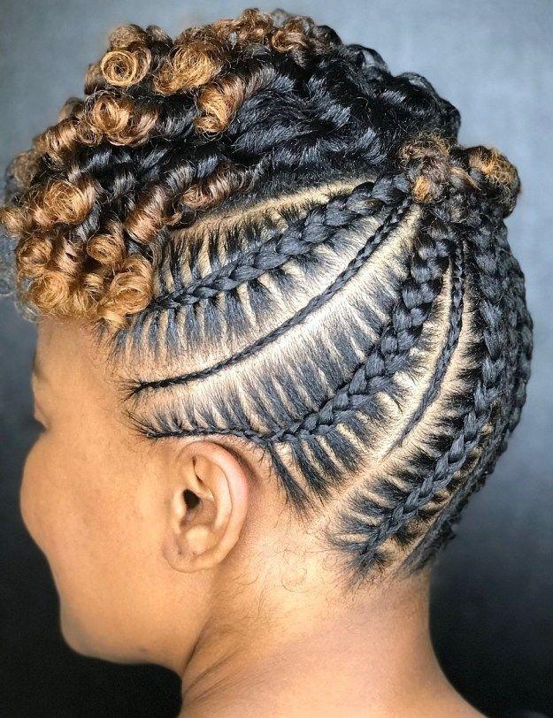 20 Super Hot Cornrow Braid Hairstyles