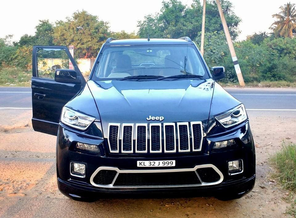 This Kerala Tuv300 Wants To Be A Jeep Cherokee Jeep Jeep