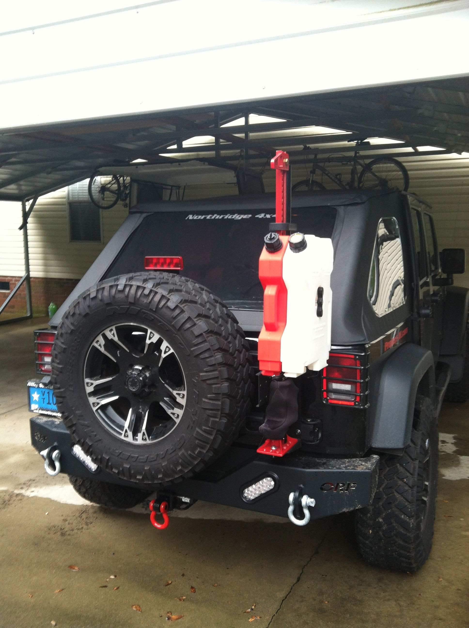 Rotopax Gas And Water Tanks Jeep Jeep Wrangler Water Tank